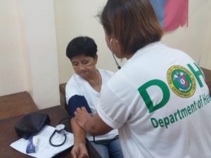 free medicing for hypertensive and diabetic-DOH